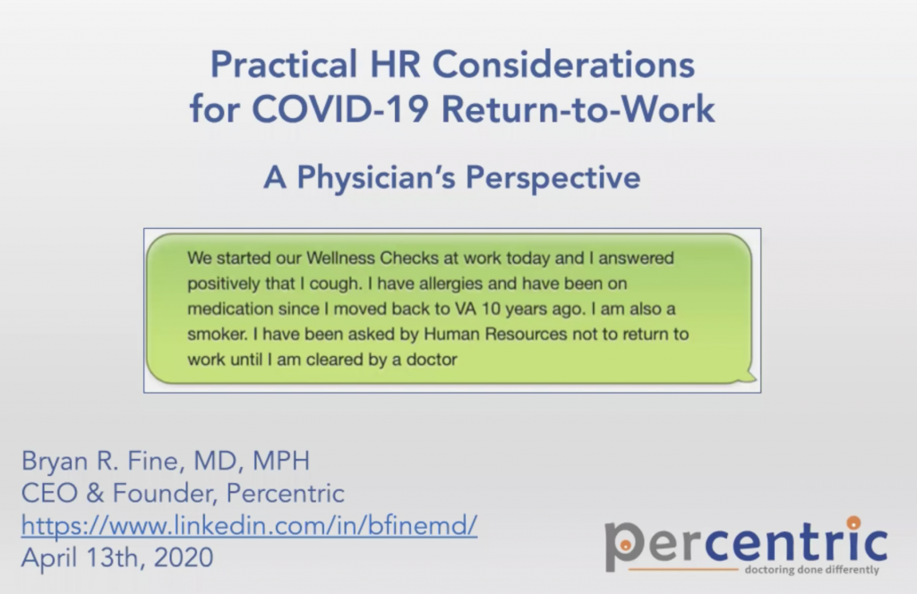 Practical HR Considerations for COVID-19 Return-to-Work