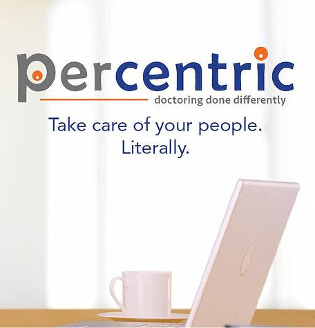 Percentric. Taking care of your people. Literally.